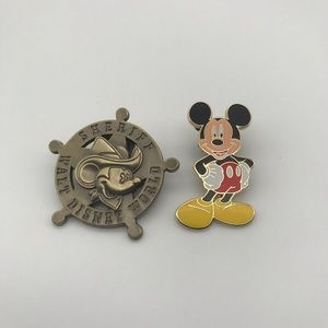 Collectible Disney Pins with Lanyard